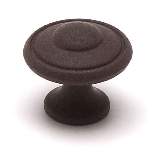 Berenson Euro Traditions 1-3/16 Inch Diameter Dull Rust Cabinet Knob 2928-1FE-P