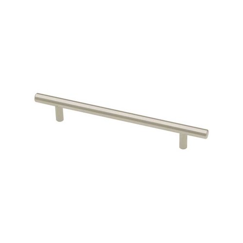 Liberty Hardware Bauhaus 6-5/16 Inch Center to Center Stainless Steel Cabinet Pull P02101-SS-C