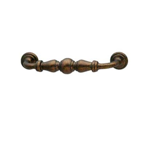 Hafele Bordeaux 3-3/4 Inch Center to Center Oil Rubbed Bronze Cabinet Pull 125.88.311