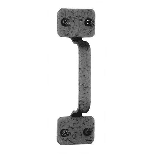 Acorn Manufacturing Rough Iron 4 Inch Center to Center Black Iron Cabinet Pull RP3BP