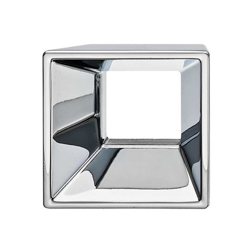 Hafele Silhouette 1-1/4 Inch Center to Center Polished Chrome Cabinet Pull 152.18.200
