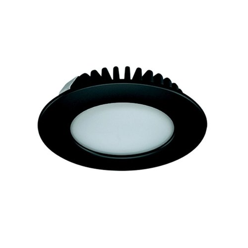 Hafele Loox 2020 12V LED Black Spotlight Warm White 833.72.281