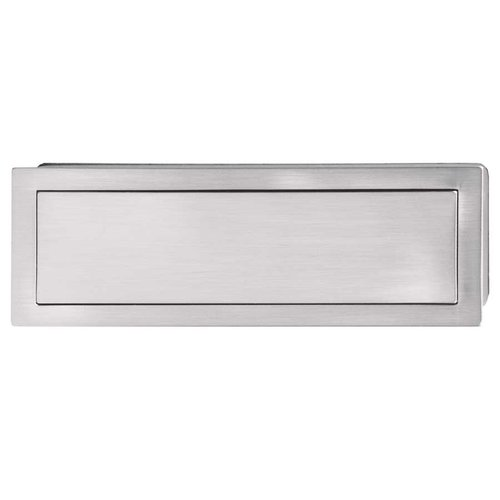 Hafele Bella Italiana 6-1/8 Inch Length Brushed Nickel Recess Pull 151.97.600