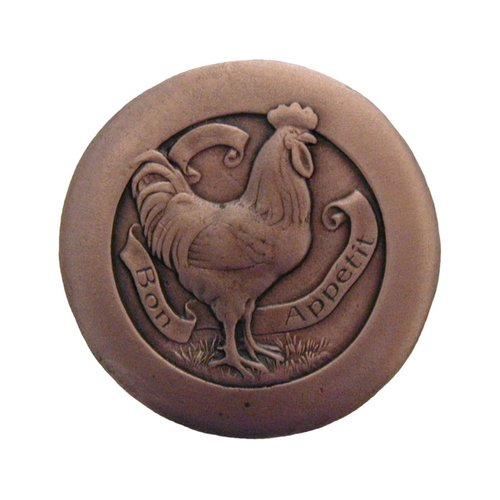 Notting Hill All Creatures 1-7/16 Inch Diameter Antique Copper Cabinet Knob NHK-167-AC