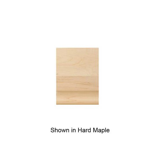 Brown Wood Medium Simplicity Cap Unfinished Red Oak 01820610AK1