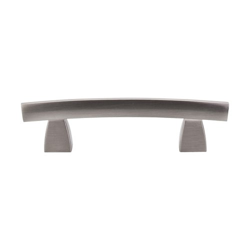 Top Knobs Sanctuary 3 Inch Center to Center Brushed Satin Nickel Cabinet Pull TK3BSN