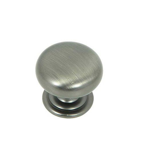 Princeton 1-1/4 Inch Diameter Weathered Nickel Cabinet Knob <small>(#CP82980-WEN)</small>