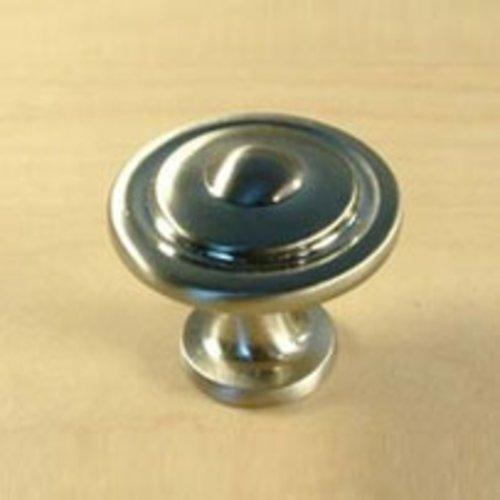 Century Hardware Lisbon 1-1/4 Inch Diameter Satin Nickel Cabinet Knob 21416-15