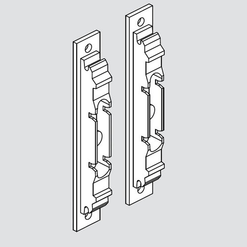 Blum Aventos Wood/Wide Alum Door Hardware Set 20S4200