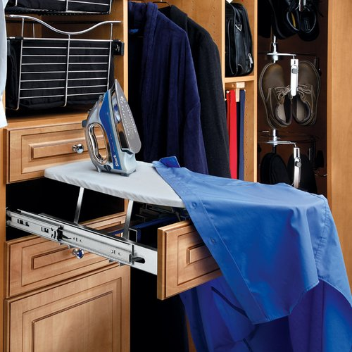 Rev-A-Shelf Closet Fold Out Ironing Board CIB-16CR