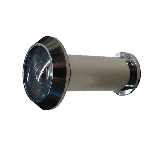 Don-Jo UL Rated Door Viewer 180 Degree View Dimension Satin Chrome ULDV-180-626