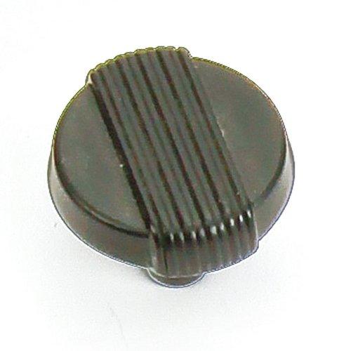 Laurey Hardware Wired 1-1/4 Inch Diameter Matte Black Cabinet Knob 39020