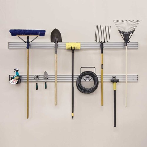 Hafele Omni Track Ready Pack Lawn/Garden Kit (Track Not Included) 792.02.241