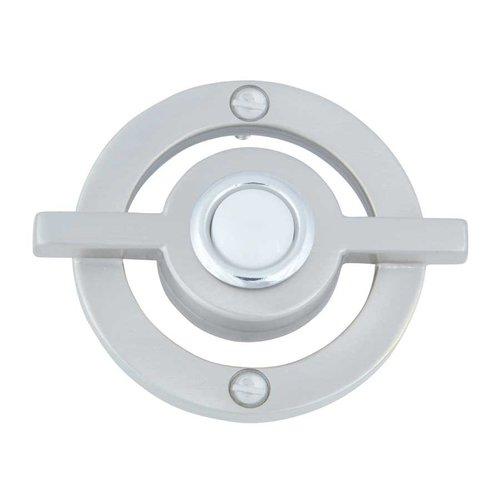 Atlas Homewares Avalon Lighted Doorbell Button Brushed Nickel DB643-BRN