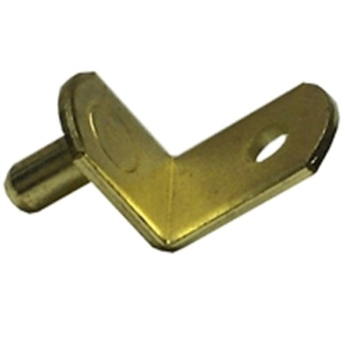 5MM Shelf Clip Bright Brass