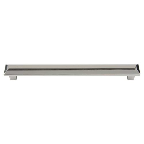 Atlas Homewares Trocadero 7-9/16 Inch Center to Center Polished Nickel Cabinet Pull 285-PN