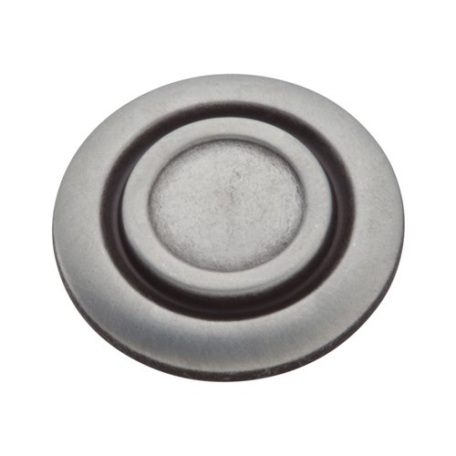 Hickory Hardware Cavalier 1-1/4 Inch Diameter Antique Pewter Cabinet Knob P121-AP