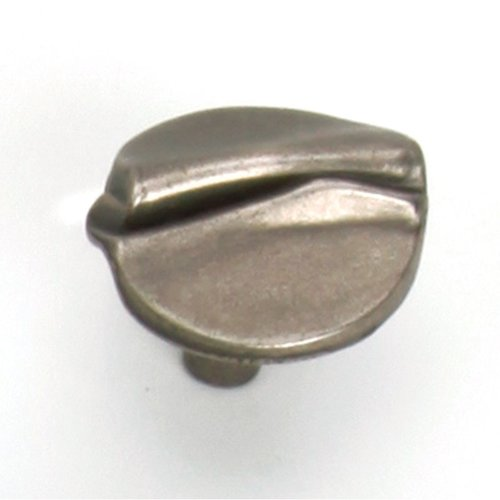 Garbow 1-3/8 Inch Diameter Antique Pewter Cabinet Knob <small>(#37806)</small>