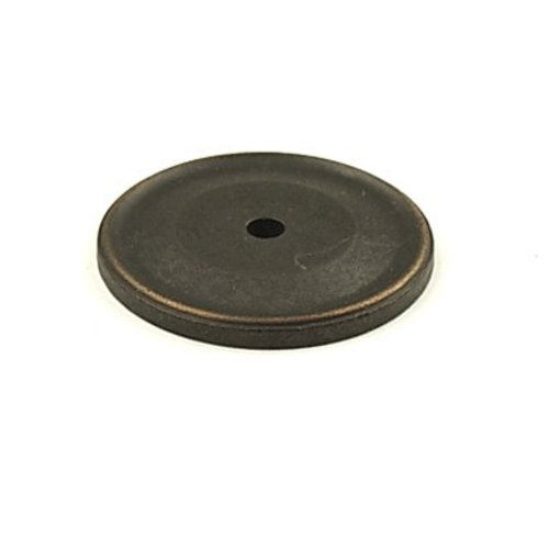 Century Hardware Yukon 1-1/2 Inch Diameter Weathered Bronze/Copper Back-plate 16369-WZC