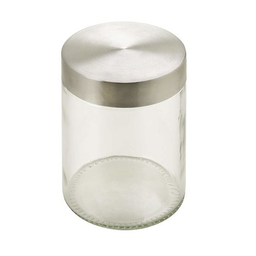 Hafele Glass Container With Stainless Lid 557.47.150