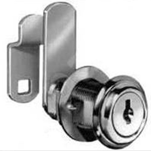 CompX Cam Lock Keyed Different-Bright Brass C8060-3-KD