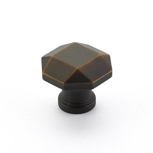 Schaub and Company Menlo Park 1-1/4 Inch Diameter Ancient Bronze Cabinet Knob 531-ABZ