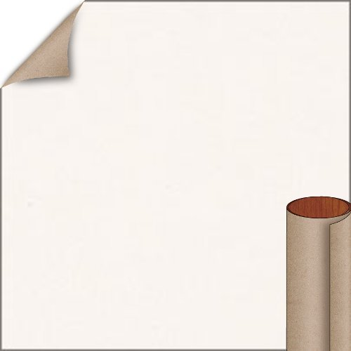 Nevamar Smokey White Textured Finish 4 ft. x 8 ft. Vertical Grade Laminate Sheet S7027T-T-V3-48X096