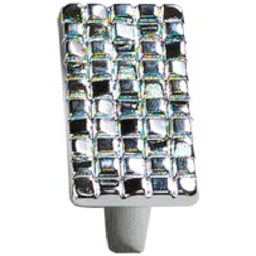 Schaub and Company Italian Designs Mosaic 1-1/4 Inch Center to Center Polished Chrome Cabinet Knob 235-26