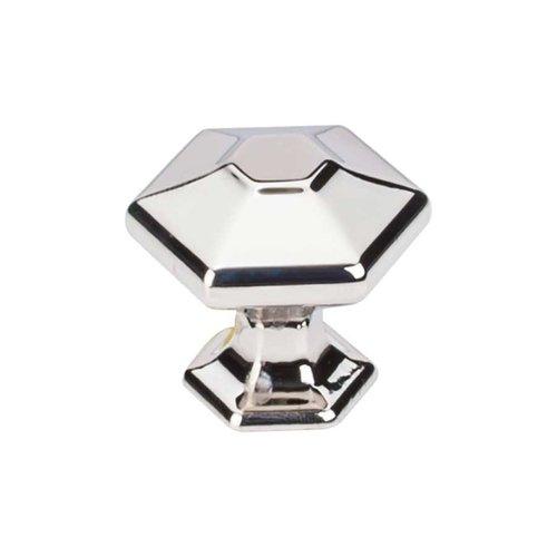 Top Knobs Transcend 1-1/8 Inch Diameter Polished Nickel Cabinet Knob TK712PN