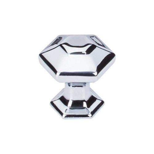 Top Knobs Transcend 1 Inch Diameter Polished Chrome Cabinet Knob TK711PC