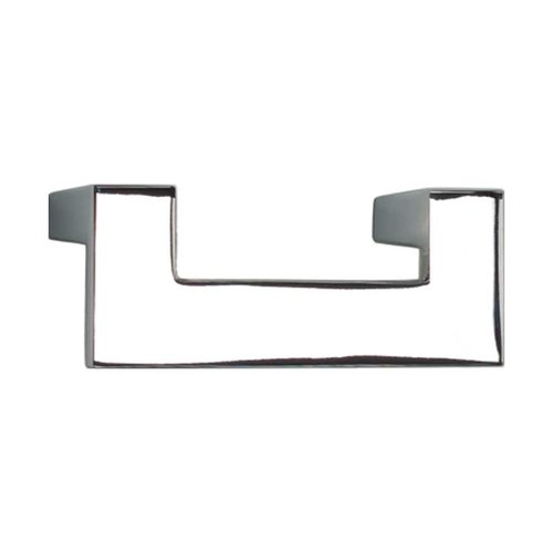 U-Turn 2-1/2 Inch Center to Center Polished Chrome Cabinet Pull <small>(#A846-CH)</small>