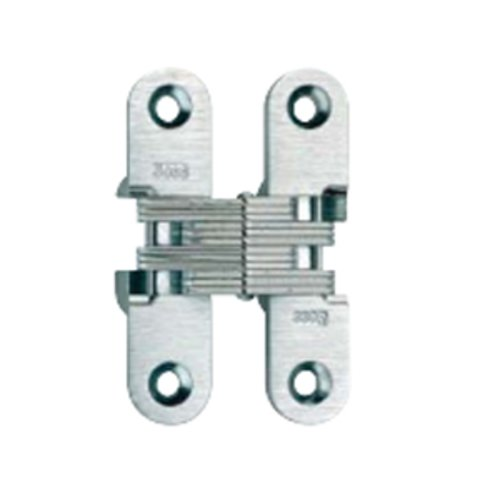 #208 Invisible Hinge Satin Stainless <small>(#208SSU32D)</small>