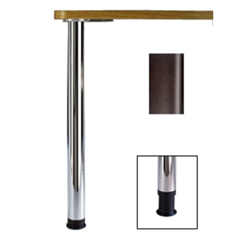 Zoom Table Leg Black 34-1/4 inch H <small>(#666-8S-19)</small>