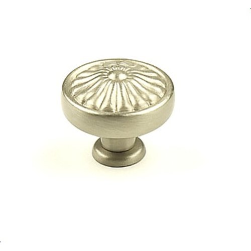 Hartford 1-1/4 Inch Diameter Dull Satin Nickel Cabinet Knob <small>(#15326-DSN)</small>