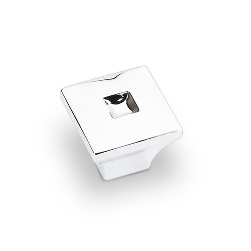 Modena 1 Inch Diameter Polished Chrome Cabinet Knob <small>(#910S-PC)</small>