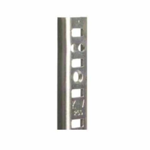 "Knape and Vogt KV #255 Steel Pilaster Strip-Zinc 30"" 255 ZC 30"