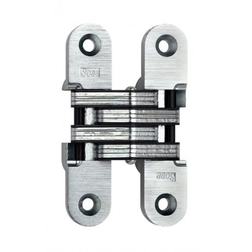 Soss #216 Invisible Spring Closer Hinge Satin Chrome 216ICUS26D