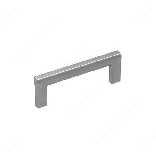 Richelieu Sleek 3-3/4 Inch Center to Center Matte Chrome Cabinet Pull 2170296174