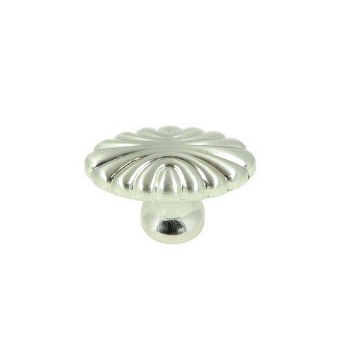 Stone Mill Hardware Vienna 1-5/8 Inch Diameter Satin Nickel Cabinet Knob CP30-SN