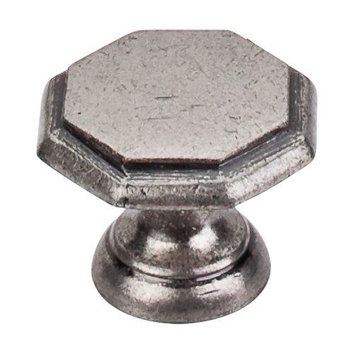 Top Knobs Britannia 1-1/4 Inch Diameter Pewter Antique Cabinet Knob M6
