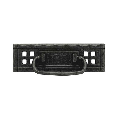 Liberty Hardware Mission 4-1/4 Inch Center to Center Flat Black Cabinet Bail Pull PN8005-SAM-A
