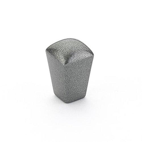 Schaub and Company Skyvale 1/2 Inch Diameter Milano Silver Cabinet Knob 300-MSV
