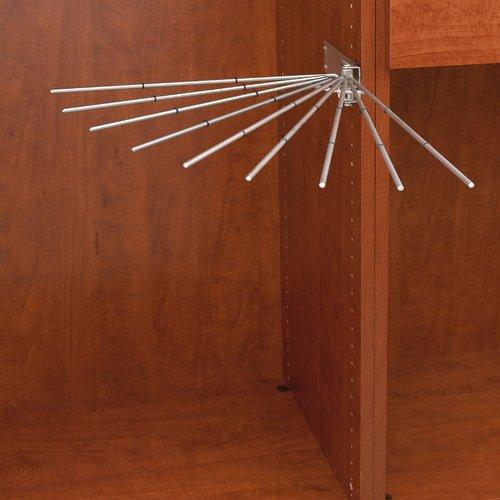 Rev-A-Shelf Fan Pant Rack - Chrome CPRF-16CR-2