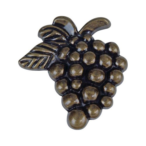 Atlas Homewares Fruit 2 Inch Diameter Burnished Bronze Cabinet Knob 2173-BB