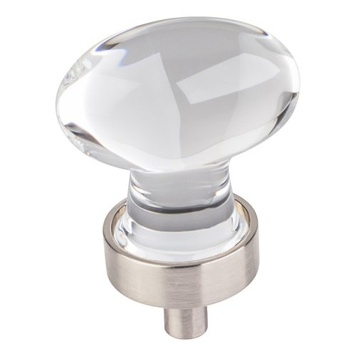 Harlow Cabinet Knob 1-1/4 inch L - Satin Nickel <small>(#G110SN)</small>