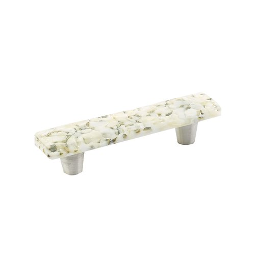 Schaub and Company Ice 3 Inch Center to Center White Lace Pebbles Cabinet Pull 30-WLP