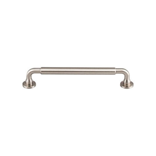 Top Knobs Serene 6-5/16 Inch Center to Center Brushed Satin Nickel Cabinet Pull TK824BSN