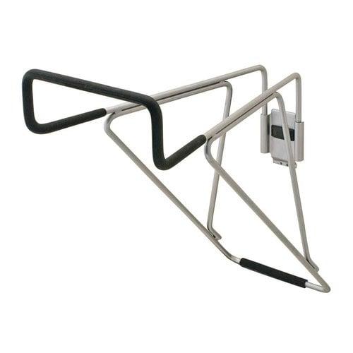 Hafele Omni Track 16 inch Utility Hook Matte Aluminum and Black 792.02.005