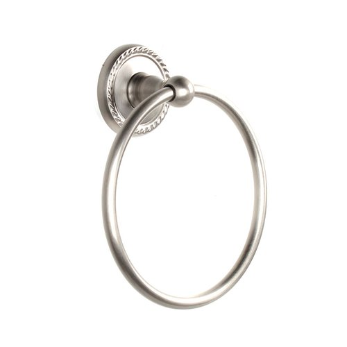 Century Hardware Aria Towel Ring Satin Nickel 81320-15