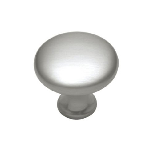Hickory Hardware Conquest 1-1/8 Inch Diameter Satin Nickel Cabinet Knob P14255-SN